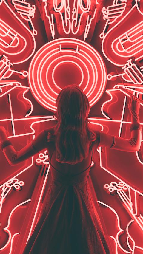 Neon chaos