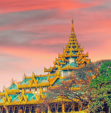 Yangon glow