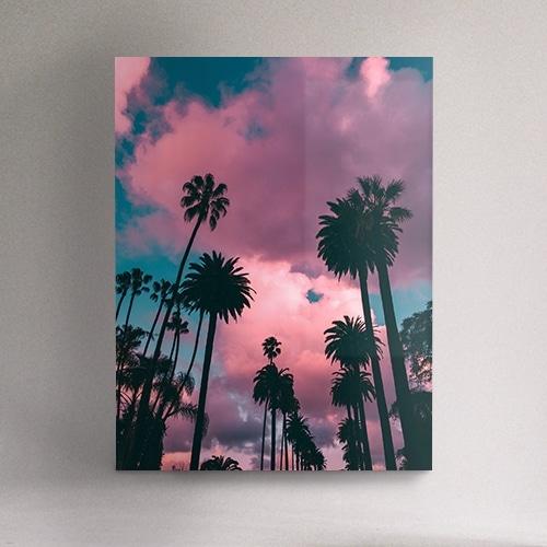 8946004323733_Robero Nickson_Pink palm trees_mockup