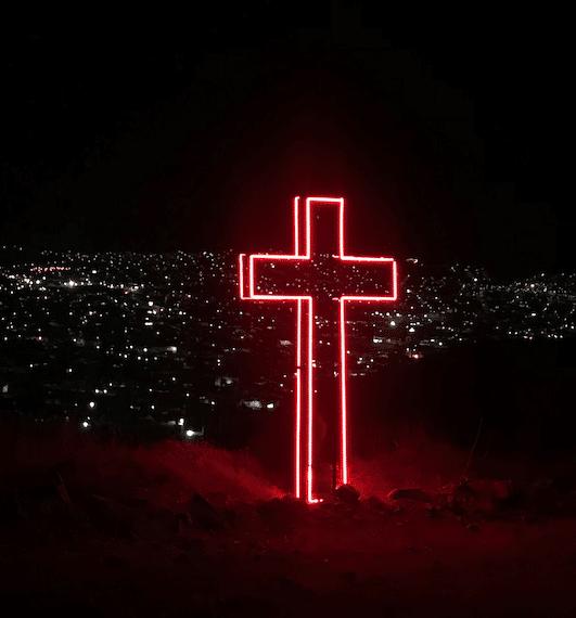 Neon-cross