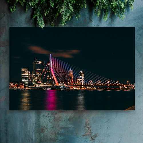 8946004323894_Harold Wijnholds_Rotterdam by night-Mockup